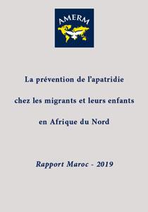 La prévention de l'apatridie chez les migrants et leurs enfants en Afrique du Nord : Rapport Maroc – 2019